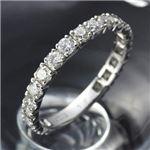 PT900ダイヤモンド1ctエタニティリング・ダイヤ指輪